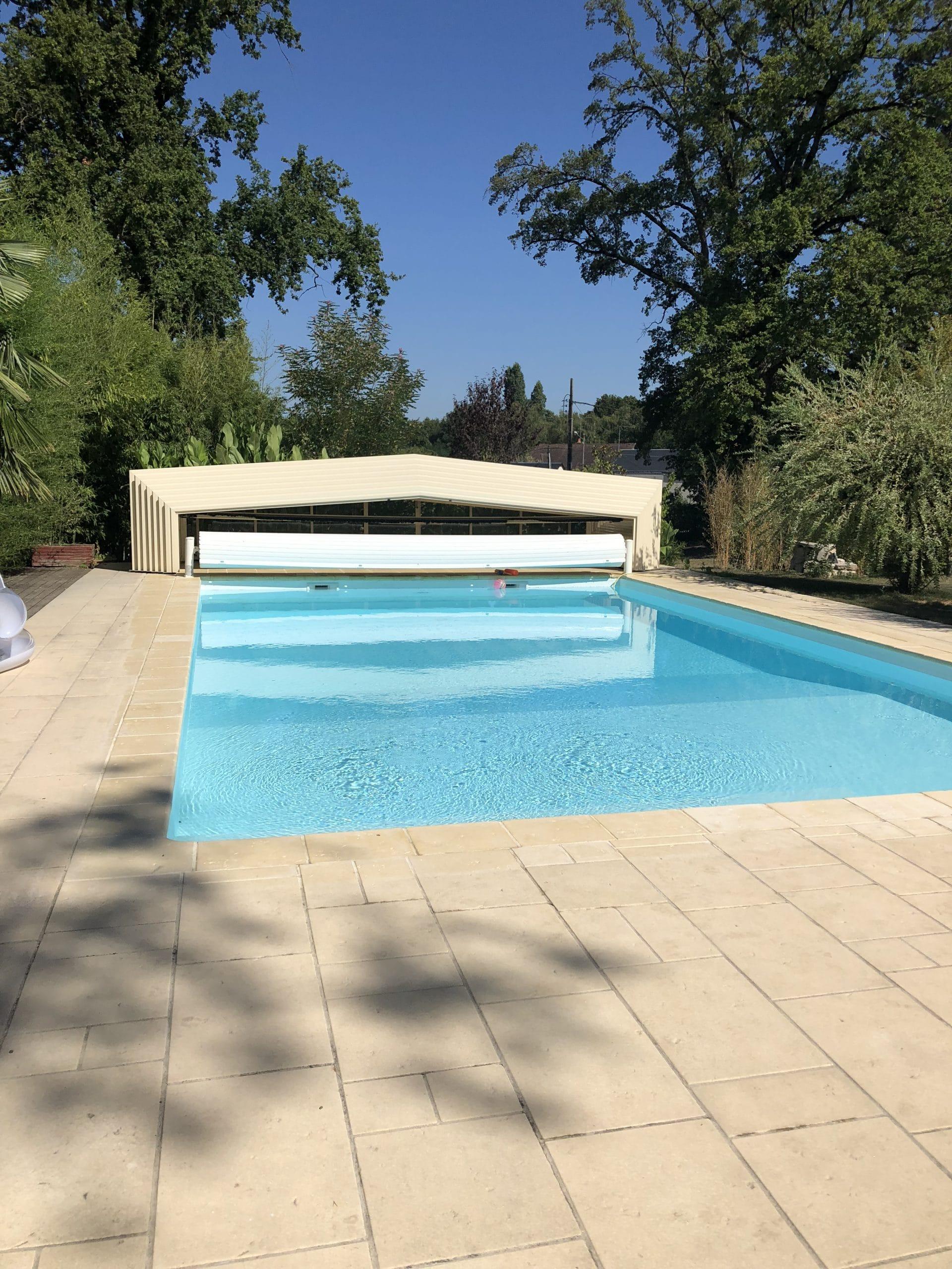 Réalisation de piscines sur mesure à veigné (37)